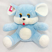 Мягкая игрушка Мышь голубая