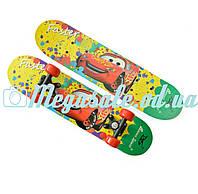 Детский мини скейт Smart Молния Макквин: размер 60х15 см