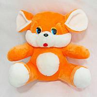 Мягкая игрушка Мышь оранжевая