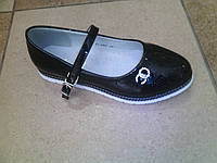 Детские Туфли для девочки 828-17  31-36 черные