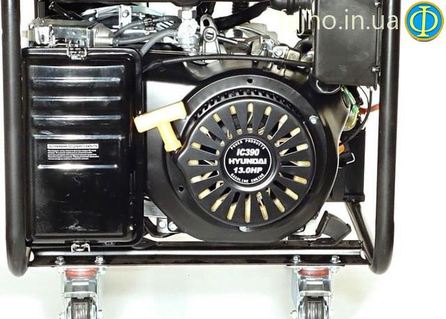 Бензиновый генератор Hyundai HHY 7000FE ATS фото 6