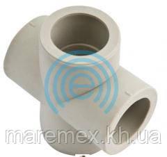 Крестовина полипропиленовая (ПП) проходная 25 (100/10) - Evci Plastik