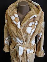 Теплые махровые халаты от производителя