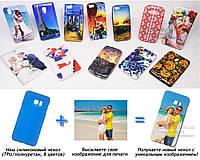 Печать на чехле для Samsung G928 Galaxy Edge Plus (Cиликон/TPU)
