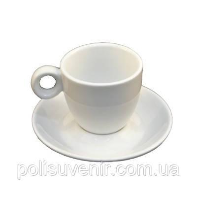 Набір кавовий чашка 80 мл+блюдце