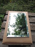 Зеркальная плитка серебро 250*300 фацет 10мм, фото 1