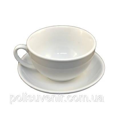 Набір чайний чашка 250 мл + блюдце