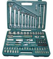 """Набор торцевых головок 1/4""""DR 4-14 мм и  1/2""""DR 14-32 мм и комбинированных ключей 8-22 мм, 82 предмета"""