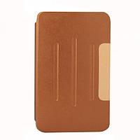 """Чехол-подставка для Samsung Galaxy Tab 4 8"""" T330/T331/T335 коричневый"""