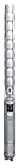 Насос погружной многоступенчатый  Wilo-Sub TWI 8 , WILO (Германия)