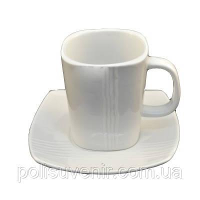 Набір чайний 2 предмета чашка 250 мл + блюдце