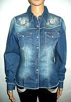 Рубашка джинсовая женская Tuzzi (Германия)