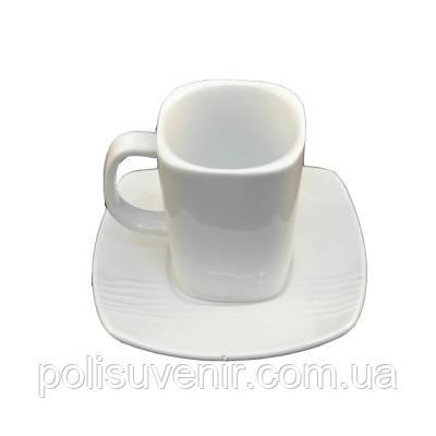 Кавовий набір чашка 100 мл + блюдце