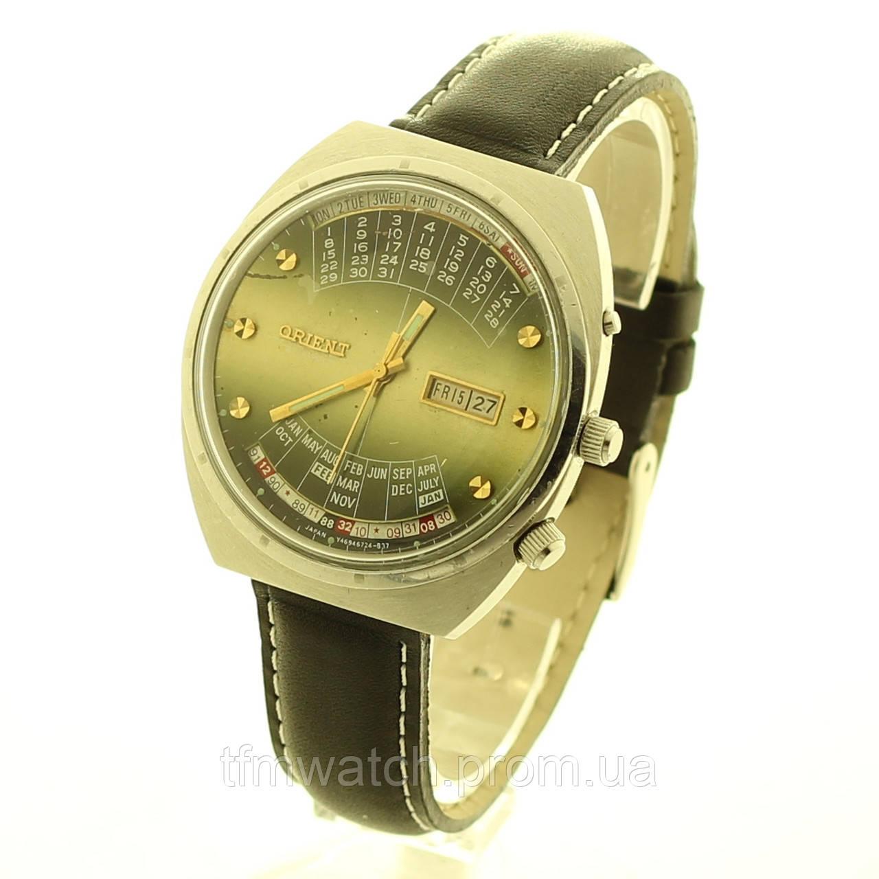 Orient коледж механические часы автоподзавод Япония