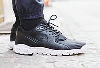 Кроссовки мужские Nike Koth Ultra (найк кот ультра) кожаные черные