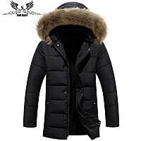 Мужской зимний пуховик куртка. Модель 729