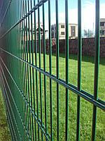 """Двойной панельный забор """"Кольчуга"""" (сварная сетка)"""