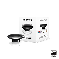 Кнопка управления Z-Wave FIBARO The Button black (черная) - FIBEFGPB-101-2
