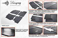Резиновые Коврики салона Daewoo Lanos 97- 4шт. (Stingrаy)