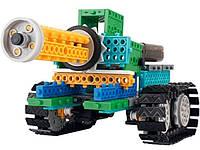На радиоуправлении конструктор 4-в-1 LongYeah танк, рыцарь, жук, формула-1 (робот с пультом управления)
