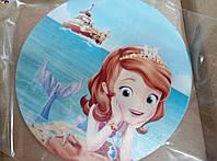 Вафельная картинка принцеса София