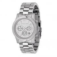 Часы  женские Michael Kors Quartz All Silver. Реплика, фото 1