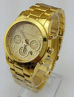 Часы женские Michael Kors Quartz Gold. Реплика, фото 1