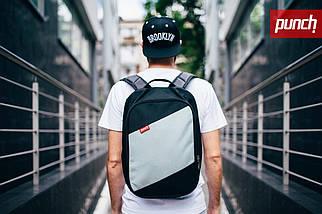 Рюкзак Punch BlackGrey, спортивный рюкзак, городской рюкзак, фото 2