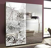 Шкаф с пескоструйным рисунком, фото 1