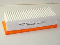 Фильтр воздушный на Рено Логан 1.5 dCi (75л.с/88л.с) 2010->  RENAULT (Оригинал) 8200985420