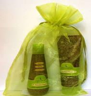 Набор для путешествий в упаковке из органзы Macadamia