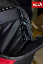 Городской рюкзак Punch Grey, серый, спортивный рюкзак, фото 3