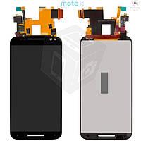 Дисплейный модуль (дисплей + сенсор) для Motorola Moto X Style XT1572, черный, оригинал