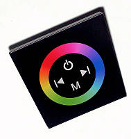 Контроллер RGB12А-Touch-BlacK встраиваемый