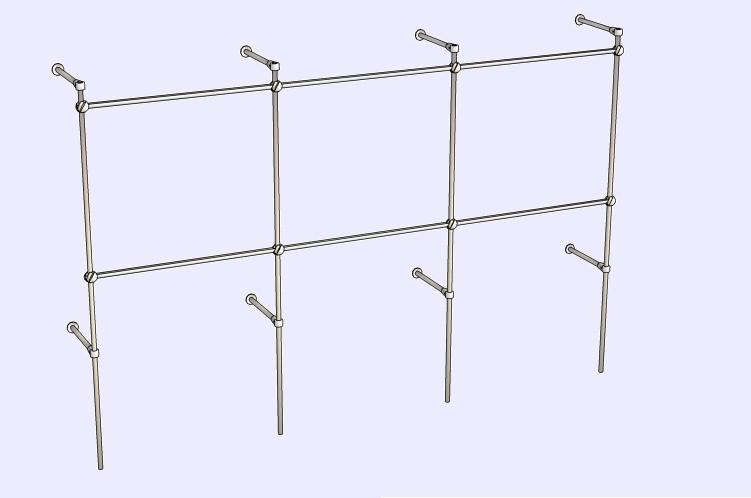 c36925122471 Вешалка для одежды из хромированной трубы, цена 1 300 грн., купить в ...