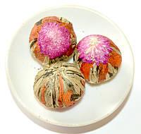 Вязанный чай Guang Fu лилия - амарант, фото 1