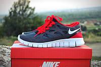 Мужские кроссовки Nike Free Run 2.0 Gray/Red