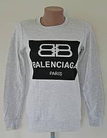 """Кофточка женская """"Balenciaga"""" - серый"""
