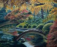 «Осенняя идиллия» картина маслом