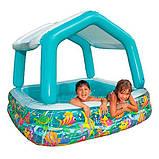 Intex 57470 бассейн надувной 157х157х122 см, фото 2