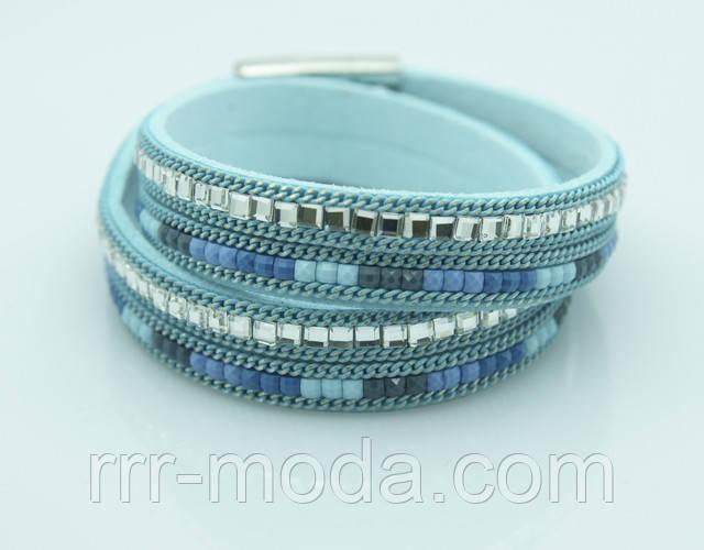 Наматывающиеся браслеты с камнями и кистями купить в Украине.