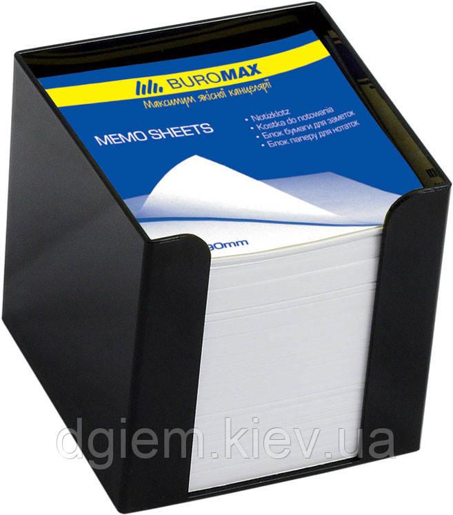 Бокс с белой бумагой 90х90х90мм