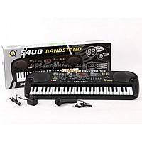 Детский синтезатор - пианино MQ-5400 от сети 220В + Микрофон