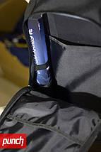 Рюкзак PUNCH городской, спортивный, черный, фото 3