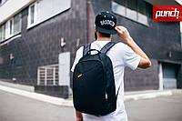 Рюкзак PUNCH городской, спортивный, черный