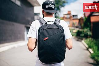 Рюкзак PUNCH городской, спортивный, черный, фото 2