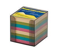 Бокс с цветной бумагой 90х90х90мм