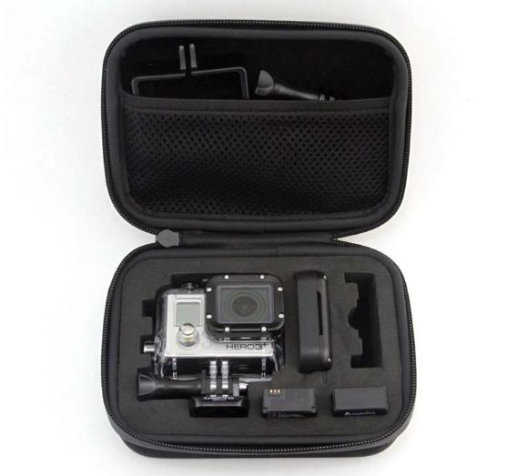 Кейс для хранения экшн камеры и аксессуаров - Black Small