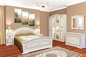 Комод Ніколь Білий/Біле дерево патина (Світ Меблів TM), фото 3