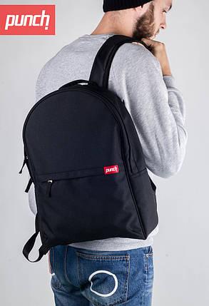 Рюкзак Punch - Crypt, black, городской, спортивный, черный, фото 2